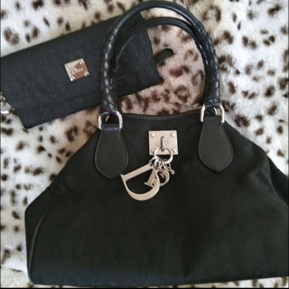 Authentic Dior Charming bag & wallet.